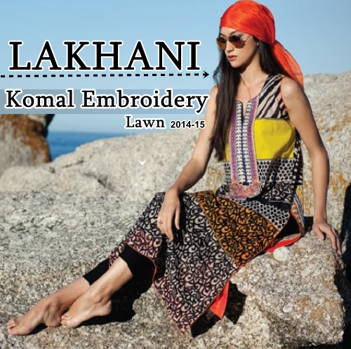 Komal Embroidery Lawn 2014