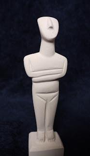 Kykladen-Idol (Nachbildung)