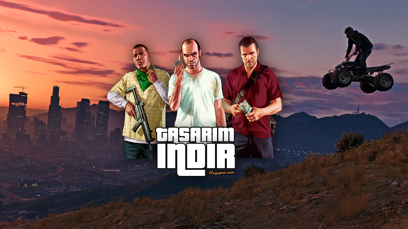 Gta 5 Wallpaper psd