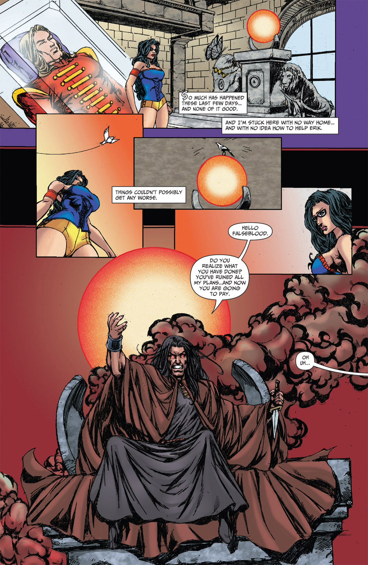 Grimm Fairy Tales (2005) Issue #51 #54 - English 12