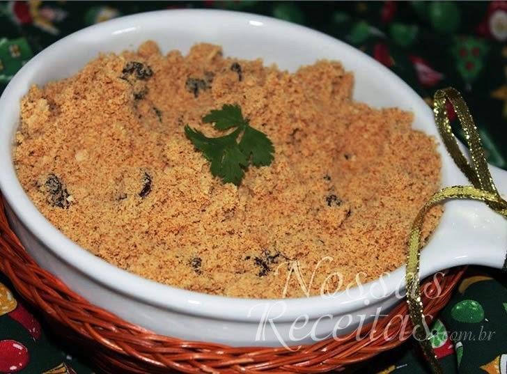Receita de Farofa de bolacha cream cracker