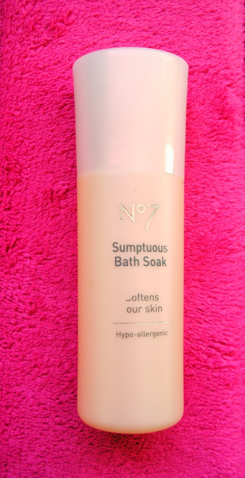 No 7 Sumptuous Bath Soak