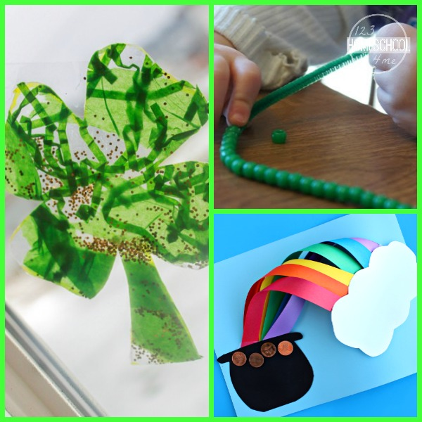 30 st patrick 39 s day crafts activities and snacks for St patrick day craft ideas