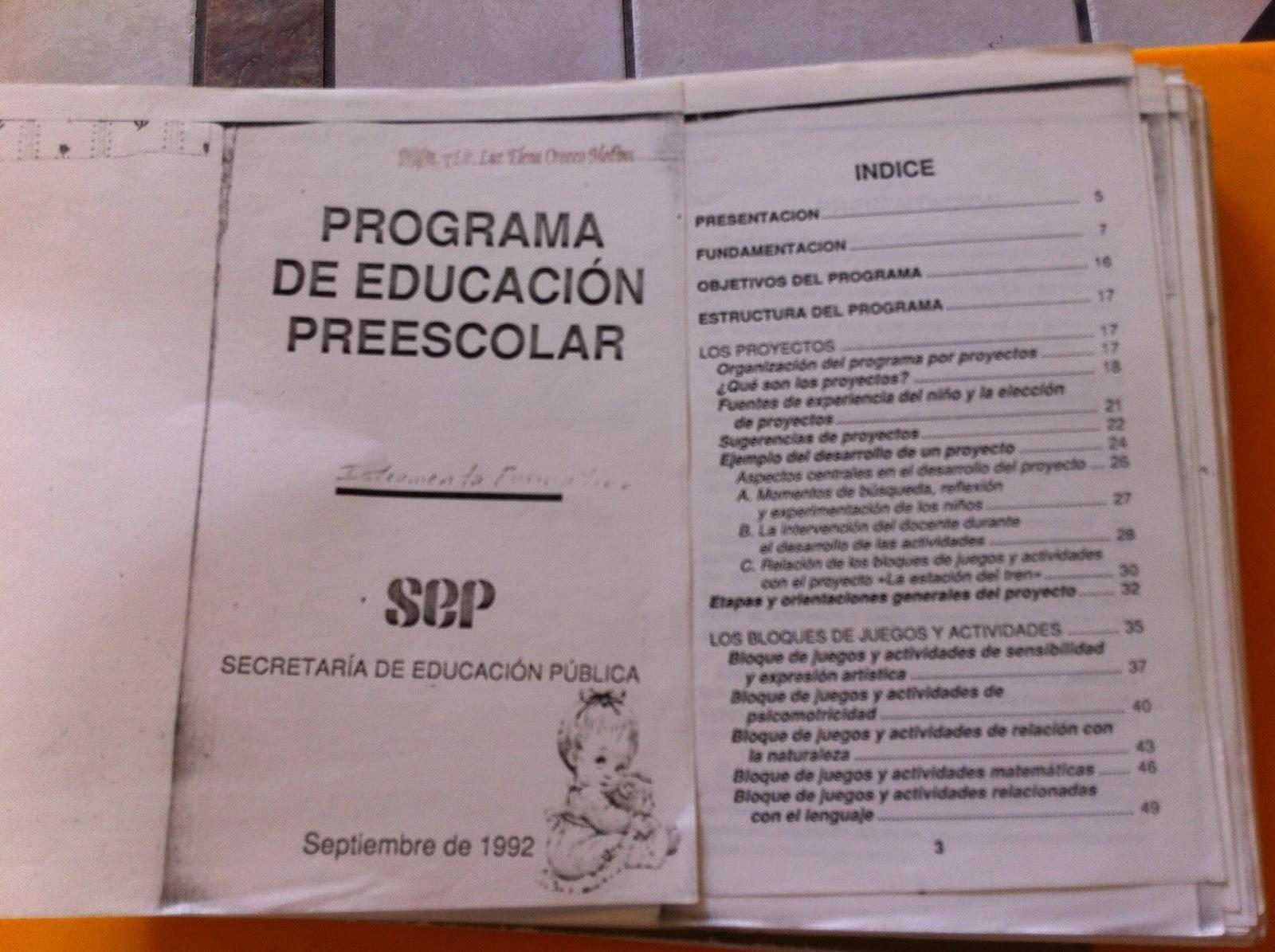 Pep 1992 Preescolar Pdf 14 ileemahal