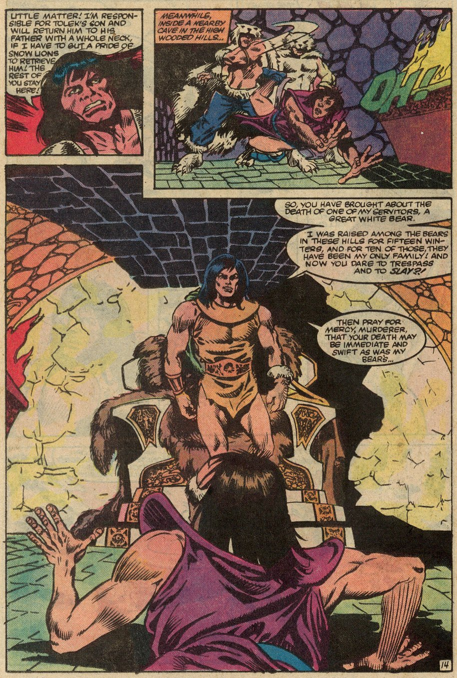 Conan the Barbarian (1970) Issue #145 #157 - English 15