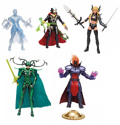 "San Diego Comic-Con 2015 Exclusive Doctor Strange ""Book of the Vishanti"" Marvel Legends Action Figure Box Set - Astral Form Doctor Strange, Brother Voodoo, Magik, Hela & Dormammu"