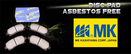 MK Kashiyama Disc Pad Asbestos Free