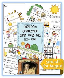 Image Clever Classroom's Classroom Organization Super Mega Pack PDF