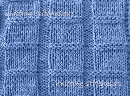Knitting Chart No Stitch : Knitting stitches collection stitch no