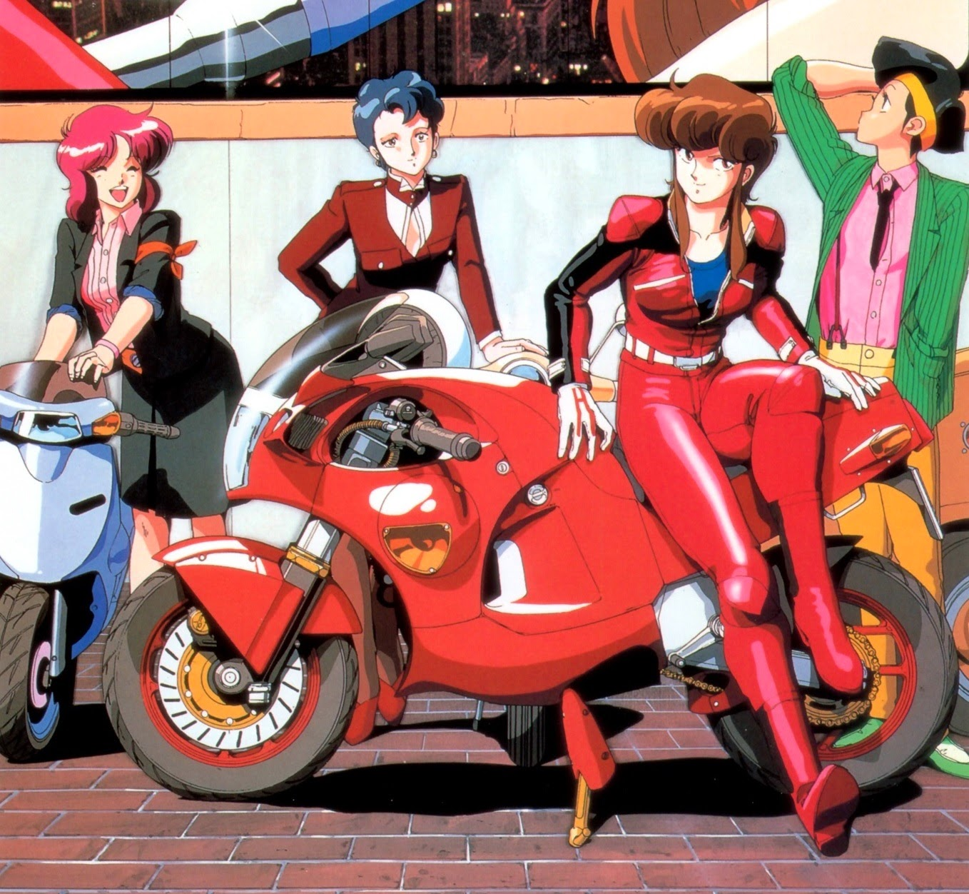 Bubblegum Crisis motorcycle