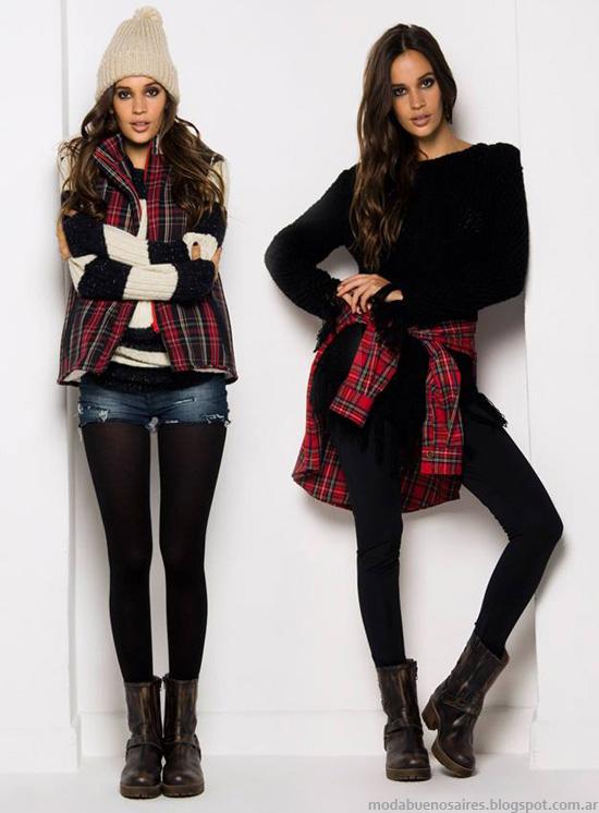 Moda 2018 moda y tendencias en buenos aires moda oto o invierno 2014 cuadros escoceses - La moda de otono ...