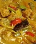 cara resep membuat memasak sayur lodeh nangka muda atau tewel