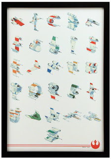 size500 SWT DanSantat Alphabet 500 Star Wars art show at Gallery Nucleus