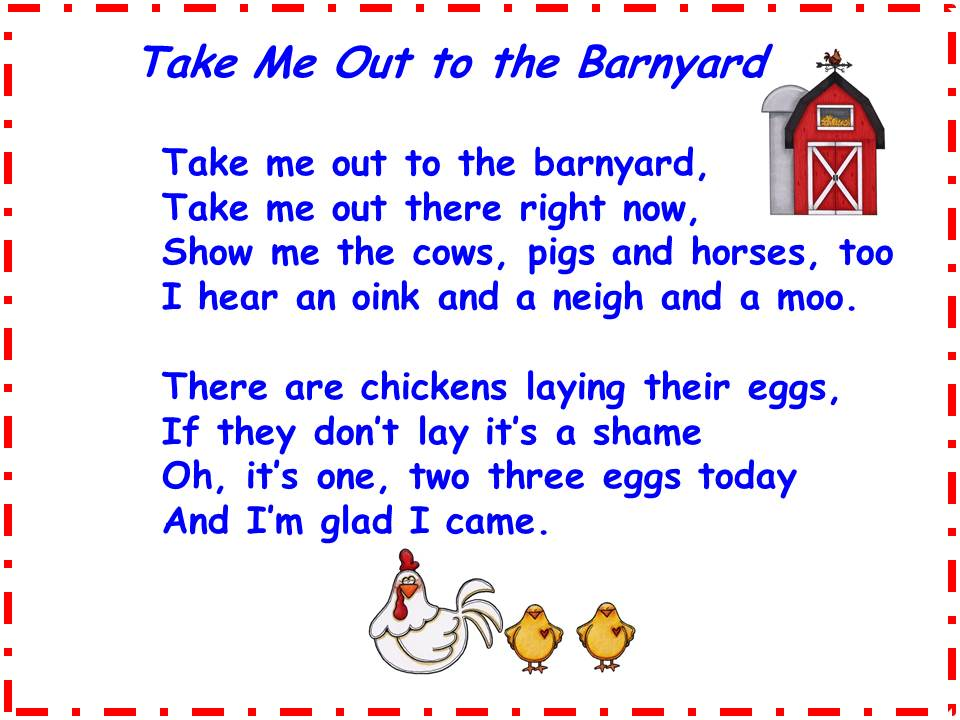 farm songs for preschool a s touch take me out to the barnyard song freebie 349