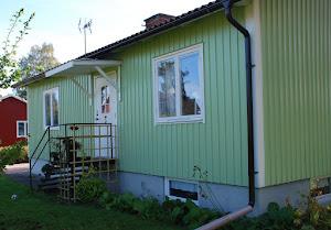 Här, i gröna villan, bor vi
