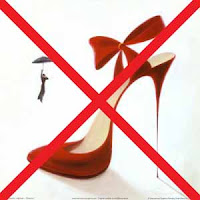 No stilettos in bazaar hunting!
