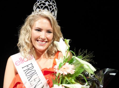 miss norway froken norge 2011 winner anna larsen zahl