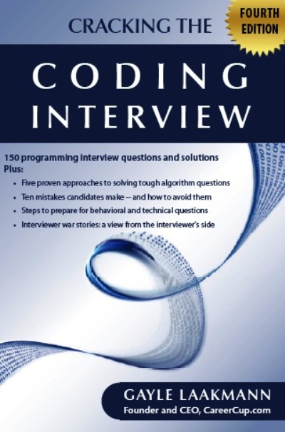 Cracking the Coding Interview, Fourth Edition 150