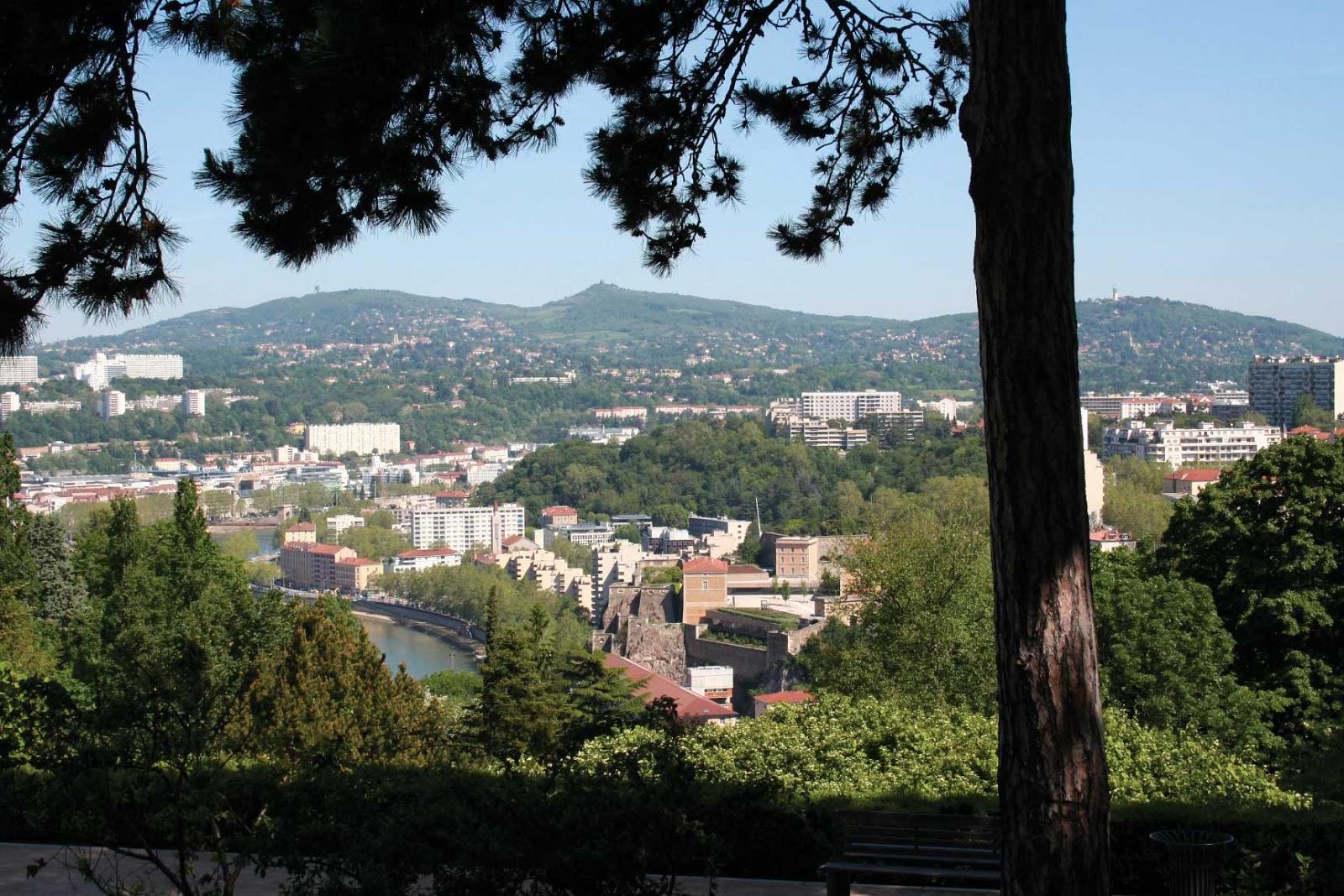 passerelle des Quatre-Vents vue panoramique - visite guidée de Lyon - Nicolas Bruno Jacquet