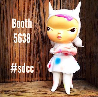 San Diego Comic-Con 2015 Debut Clementine Vinyl Figure by Kathie Olivas