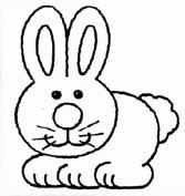 animais para pintar, animais para imprimir, animais,desenhos para imprimir, desenhos para pintar, coelho