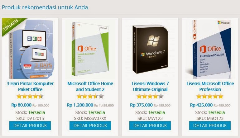 jual dvd software komputer