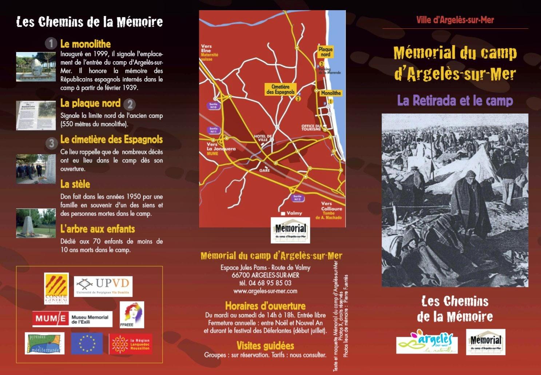 """Excursió """"Les indésirables. Internament, exclusió control polític. Argelers i Cotlliure."""""""