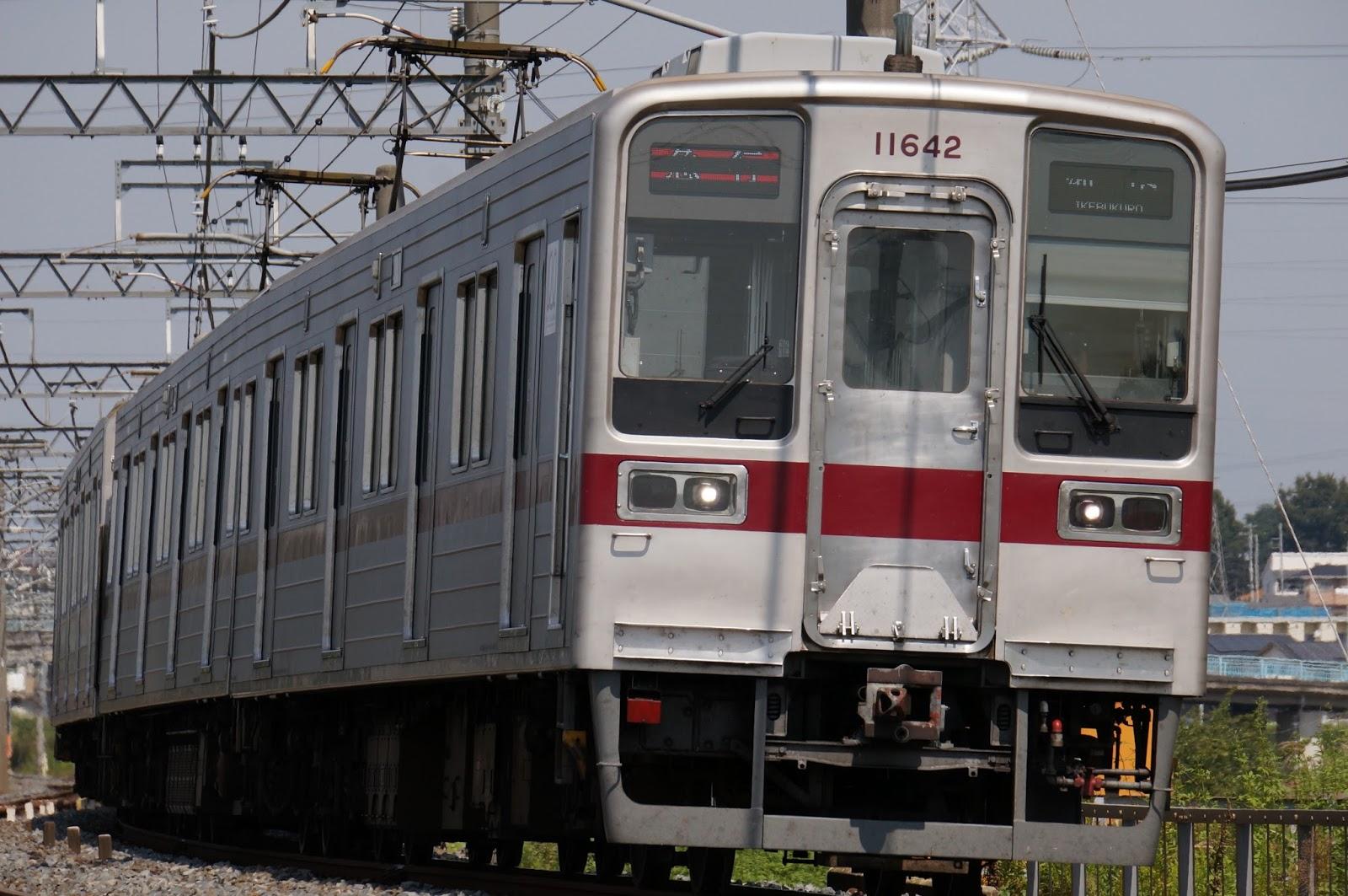 東武東上線10030系更新車