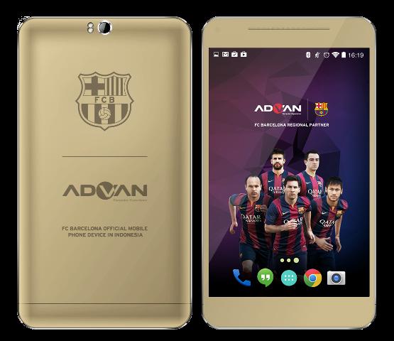 Advan Barca 5, Advan Barca Tab 7, Advan smartphone, Octa-core Smartphone, Smartphone opiniones, Android KitKat, Lionel Messi, fan del Barça, del FC Barcelona, cámara selfie,