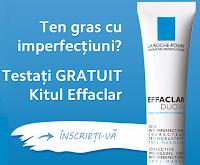 La Roche-Posay Effaclar Duo - campanie de testare gratuita