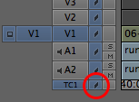 Toggle Sync Lock on all tracks by clicking in the Timecode track.