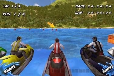 لعية سباق الدرجات المائية Jet Ski Racing 3D  اون لاين