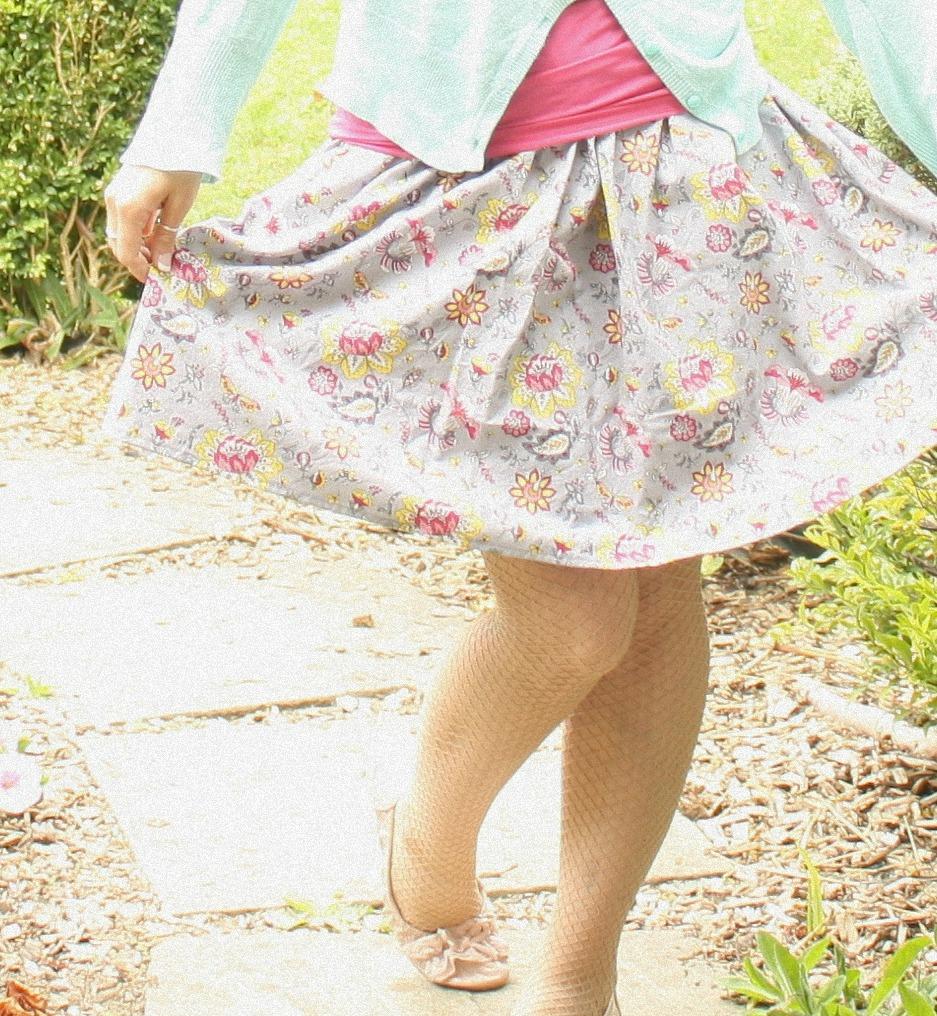 Sewhungryhippie: Easy Breezy Summer Skirt
