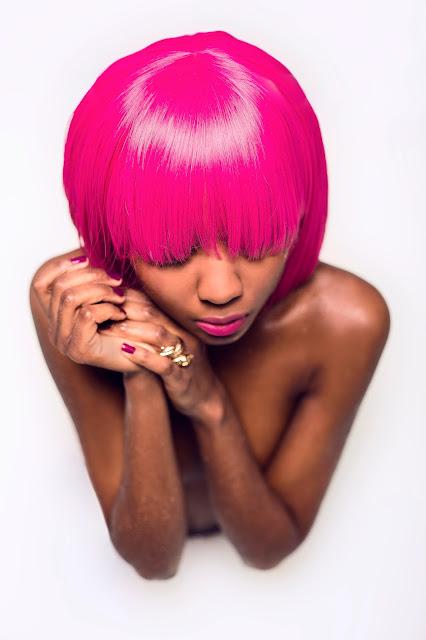maquillaje con aerógrafo piel negra, Alicia LaTorre maquilladora Stylestudio MAKE UP