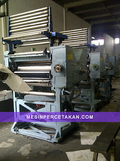 Web printing machine | Mesin cetak koran web