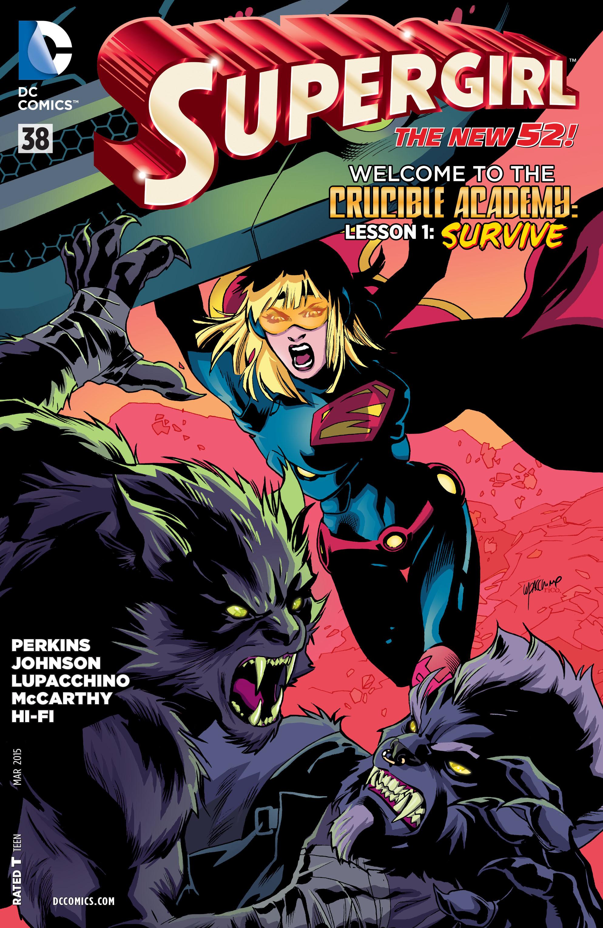 Supergirl (2011) Issue #38 #40 - English 1