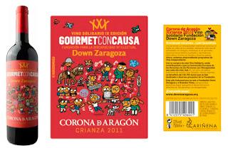GOURMET CON CAUSA: IX Campaña de Vino Solidario Fundación Down Zaragoza