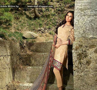 Farah Laghari Eid '15 Dresses by Shariq