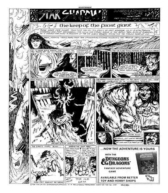 Star Shadow Episode 3 (2000AD, Prog 389) - The Keeper of the Frost Giant 