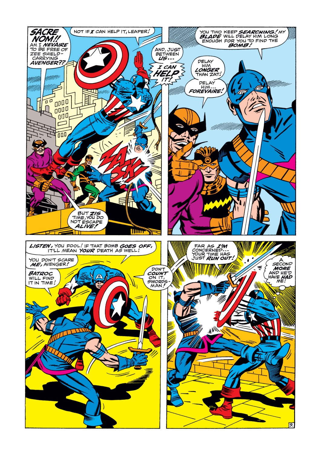 Captain America (1968) Issue #105 #19 - English 10