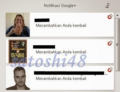 Notifikasi Google Plus
