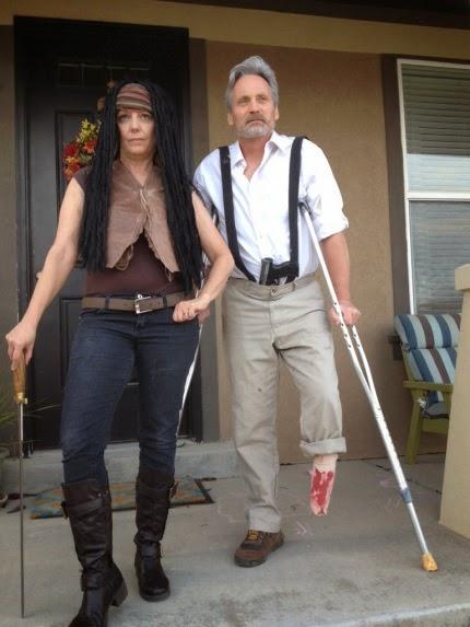 Michonne Moshonne TWD Halloween Costumes