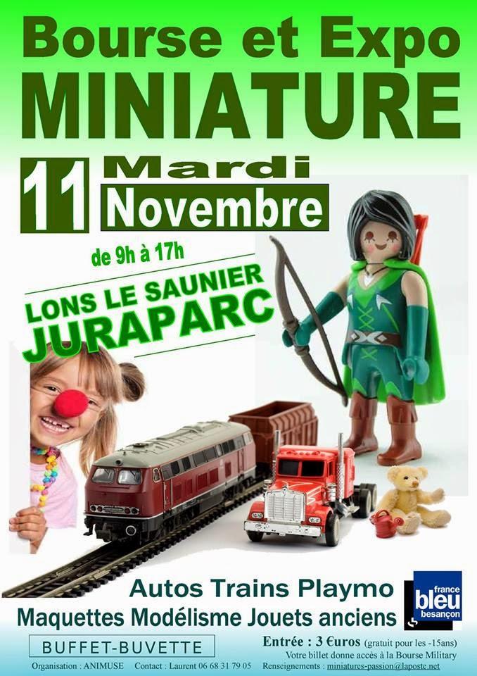 Expo miniatures Lons le Saunier - 11 novembre 2014