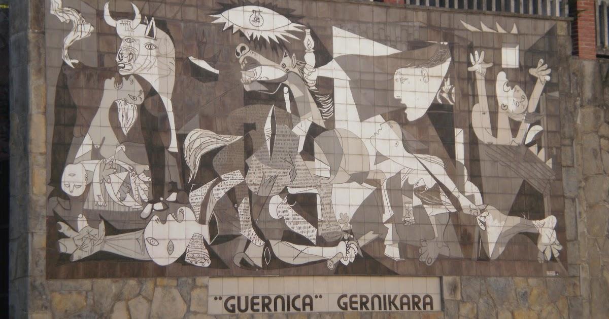 Las aventuras de un osito de peluche guernica for Mural guernica