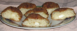 Rice croquettes with cheese