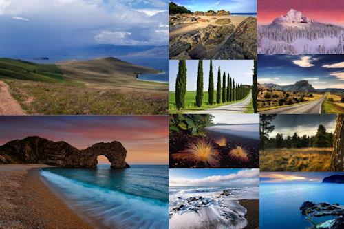 Los paisajes más hermosos del mundo II (10 fotos)