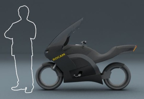 A High-Tech Bike For Brazilian cops