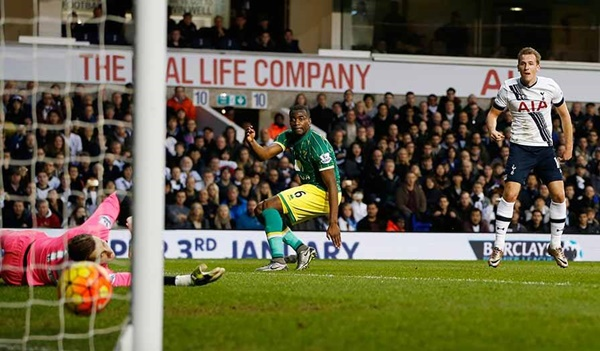 Tottenham 3 x 0 Norwich - Premier League 2015/16