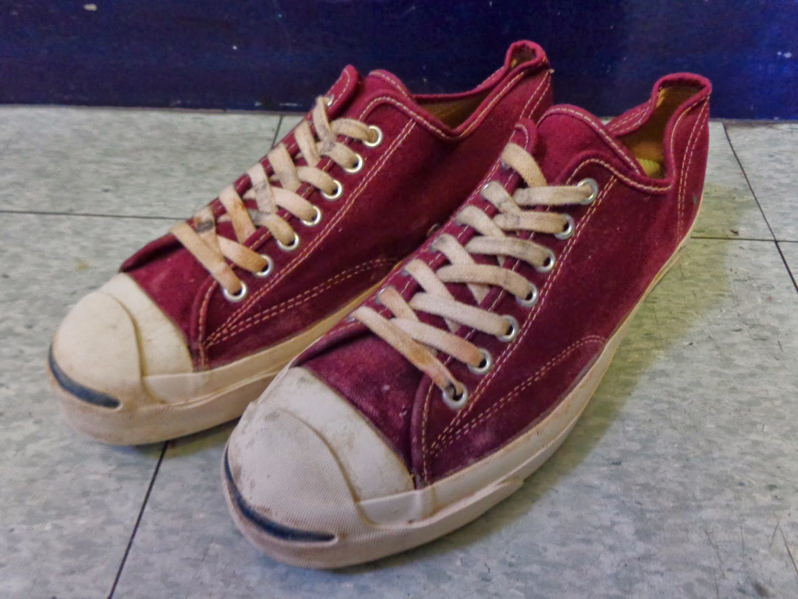 "60's JACK PURCELL ""BURGUNDY"""