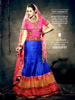 Bridal Lehenga Embroidered Dresses